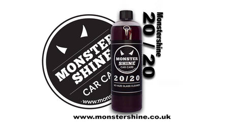 Monstershine Car Care 20/20 No Haze Glass Cleaner