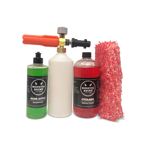 Cyclone, Lance and Wash Kit - Monstershine Car  Care