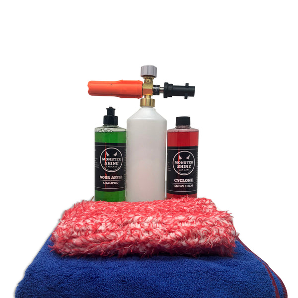 Cyclone Wash & Dry Kit - Monstershine Car  Care