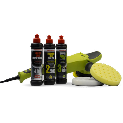DA21 Dual Action Polishing Menzerna Pack with Lake Country CCS Pads - Monstershine Car  Care