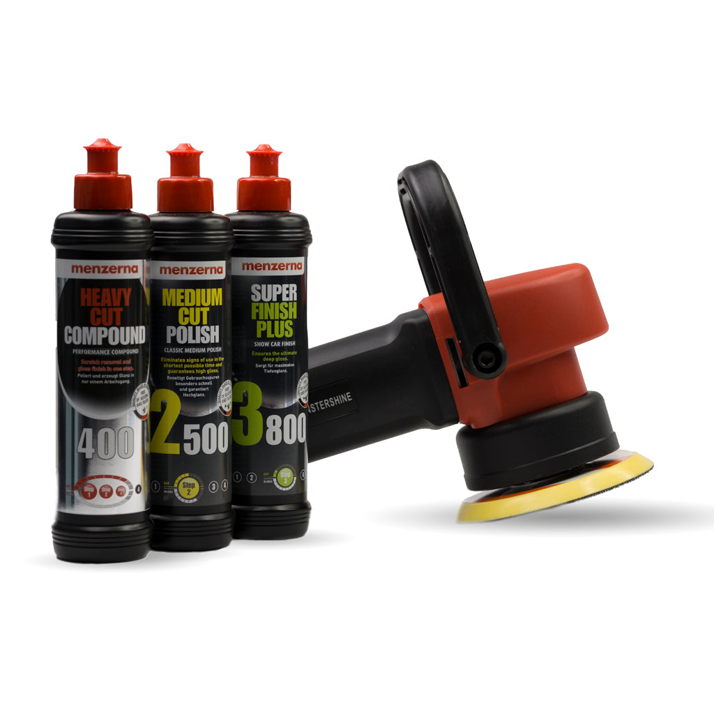 DAS Pro Dual Action Machine Polisher Menzerna Pack Monstershine - Show car products