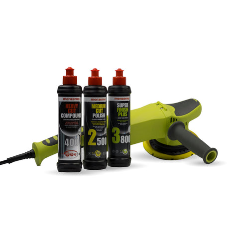 DA21 Dual Action Polishing Machine Menzerna Pack - Monstershine Car  Care