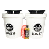 Monstershine Wash and Rinse Buckets Grit Guards Kit - Monstershine Car  Care