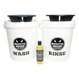 Monstershine Buckets and Grit Guards Kit with Shampoo - Monstershine Car  Care