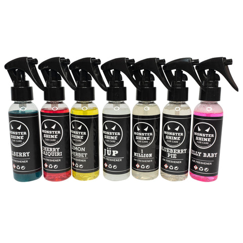 Air Freshener Sample Pack - Monstershine Car  Care