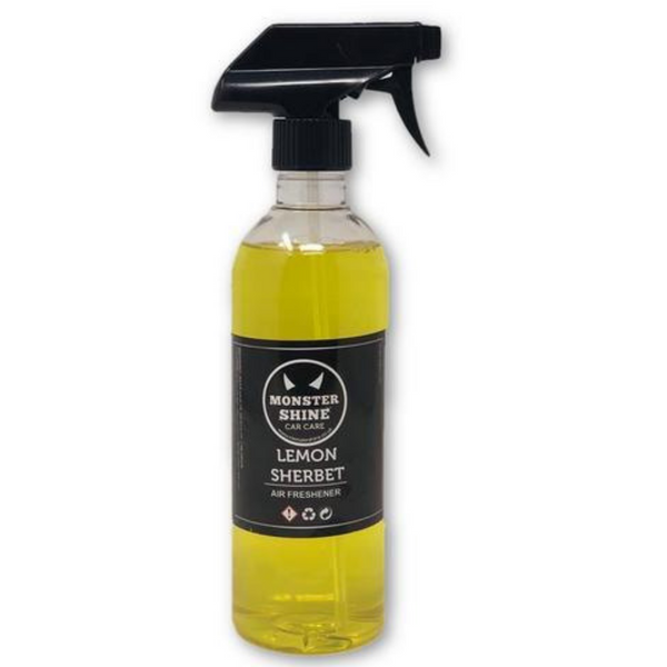 Lemon sherbet air freshener - Monstershine Car  Care