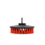 Carpet Brush with Drill Attachment - Red - Hard - Monstershine Car  Care