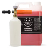 Monstershine Pro HD Snow Foam Lance and 5 Litres Cyclone Snow Foam - Monstershine Car  Care