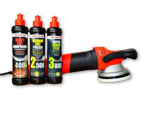 Forced Rotation DA Polisher Menzerna Pack - Monstershine Car  Care