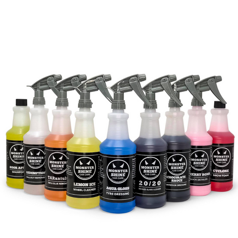 Pro Valet Kit - 9 Bottles - Was £161.00 Now £80.00 - Monstershine Car  Care