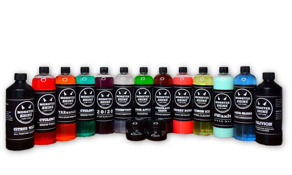 monstershine car care providing to quality detailing products
