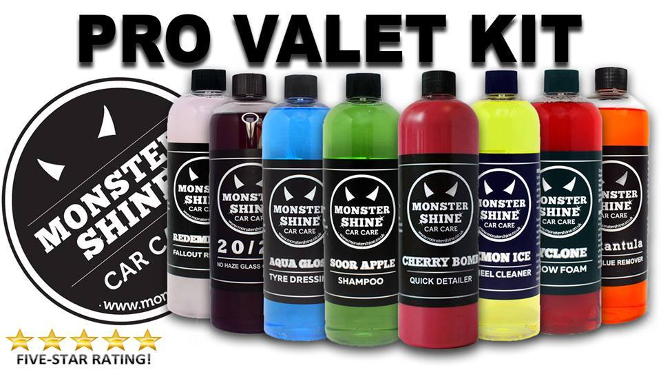 Pro Valet Kit - Was £63.00 now £35.00