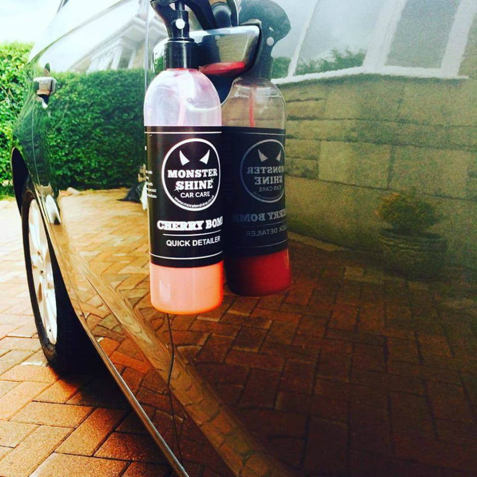 Monstershine Car Care Cherry Bomb Quick Detailer