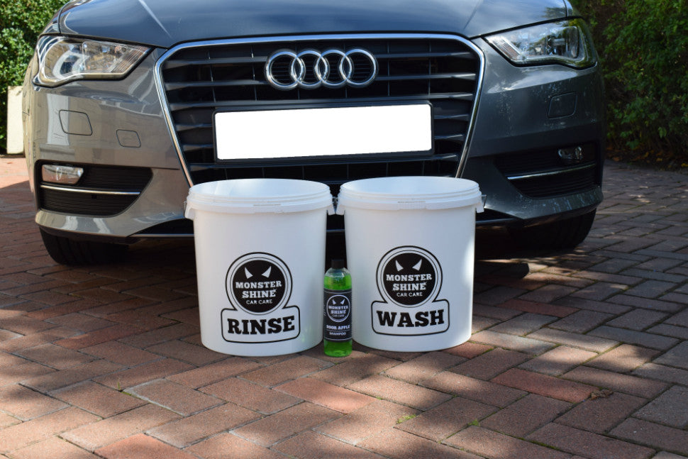 Monstershine Buckets and Grit Guards Kit