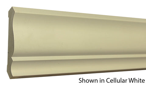 Cellular White Crown Moldings