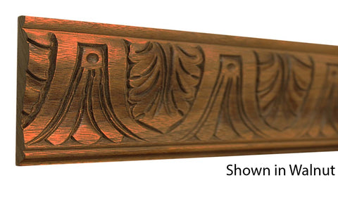 Walnut Decorative Embossed Moldings