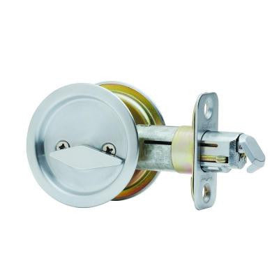 Kwikset Ultramax Round Pocket Privacy Door Lock/Steel Finish - $20.00 sold by American Wood Moldings