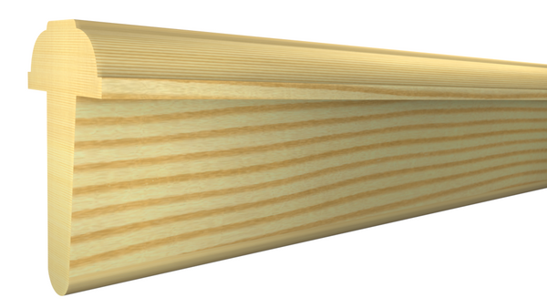 "AS-200-108-1-CP -  1-1/4"" x 2""  Clear Pine Interior Astragal - $3.52/ft"