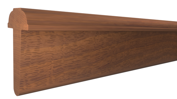 "AS-208-108-1-HMH - 1-1/4"" x 2-1/4""  Honduras Mahogany Interior Astragal - $22.28/ft"
