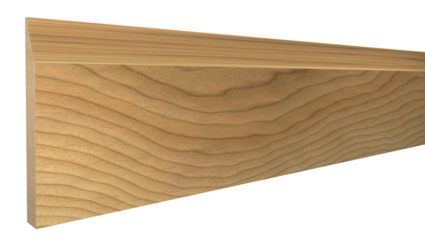"BA-224-012-1-MA -  3/8"" x 2-3/4"" Maple Base - $3.04/ft"