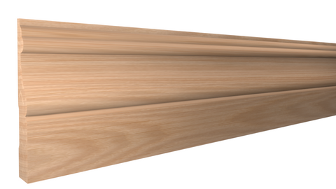 "BA-412-020-1-RO - 5/8"" x 4-3/8"" Red Oak Base - $3.28/ft"