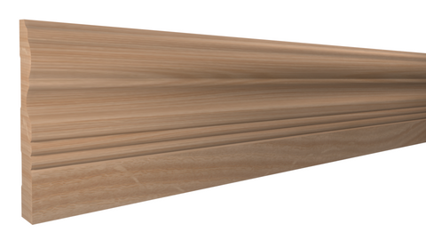 "BA-508-024-2-RO - 3/4"" x 5-1/4""  Red Oak Base - $3.84/ft"