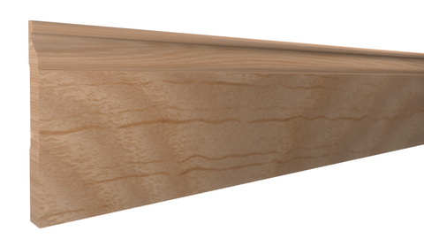 "BA-516-020-1-RO - 5/8"" x 5-1/2""  Red Oak Base - $3.84/ft"