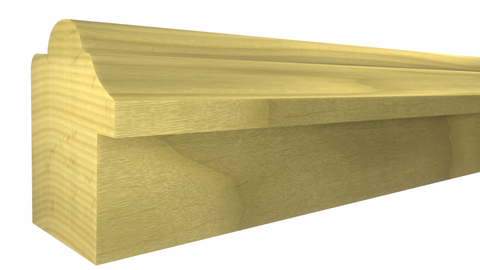 "BB-102-028-1-PO - 7/8"" x 1-1/16""  Poplar Backband - $0.64/ft"