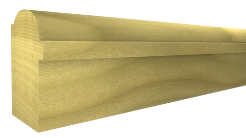 "BB-112-100-1-PO - 1"" x 1-3/8""  Poplar Backband - $0.92/ft"