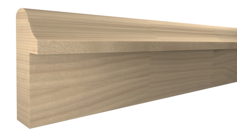 "BB-124-024-1-FBE - 3/4"" x 1-3/4"" Finger Joint Beech Backband - $0.92/ft"