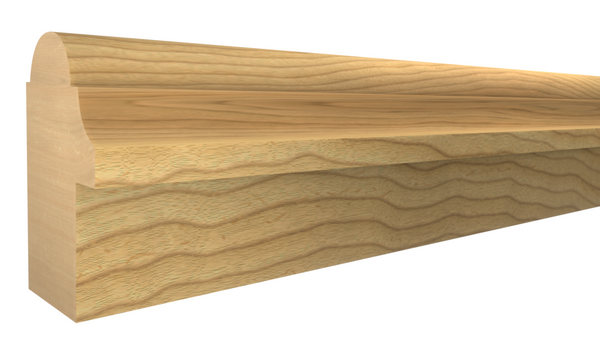 "BB-124-102-1-MA - 1-1/16"" x 1-3/4"" Maple Backband - $2.72/ft"