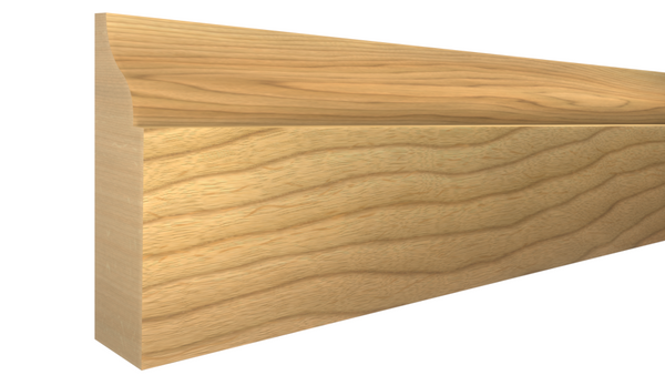 "Profile View of Door Stop Molding, product number DS-112-014-1-MA - 7/16"" x 1-3/8"" Maple Door Stop - $2.16/ft sold by American Wood Moldings"