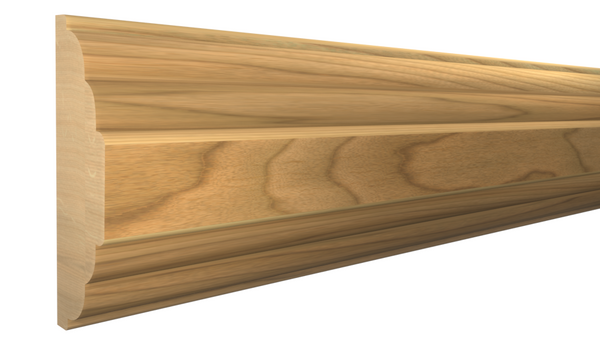 "Profile View of Mullion Molding, product number MU-116-020-1-MA - 5/8"" x 1-1/2"" Maple Mullion - $2.40/ft sold by American Wood Moldings"