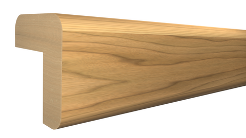 "Profile View of Outside Corner Molding, product number OC-024-024-1-MA - 3/4"" x 3/4"" Maple Outside Corner - $1.92/ft sold by American Wood Moldings"