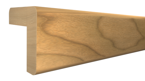 "Profile View of Outside Corner Molding, product number OC-104-104-1-MA - 1-1/8"" x 1-1/8"" Maple Outside Corner - $3.00/ft sold by American Wood Moldings"