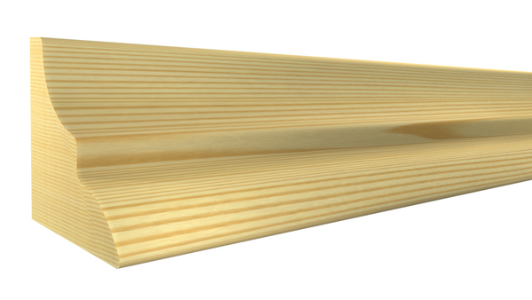"PA-016-016-1-CP - 1/2"" x 1/2"" Clear Pine Panel Molding - $0.48/ft"