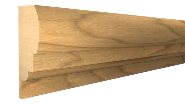 "Profile View of Panel Molding Molding, product number PA-028-016-1-MA - 1/2"" x 7/8"" Maple Panel Molding - $1.68/ft sold by American Wood Moldings"