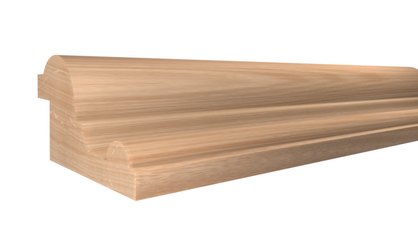 "Profile View of Panel Molding Molding, product number PA-116-028-1-RO - 7/8"" x 1-1/2"" Red Oak Panel Molding - $2.04/ft sold by American Wood Moldings"