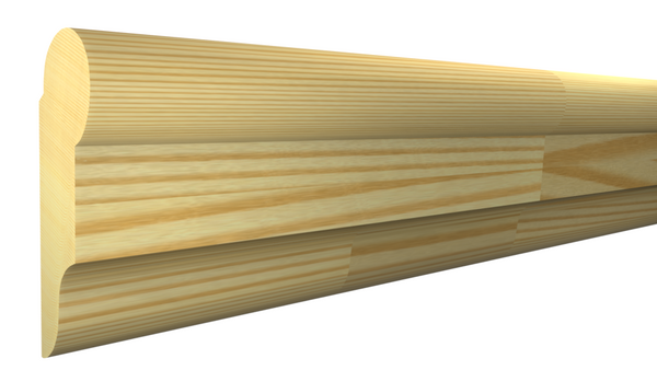 "PI-124-022-1-FPI - 11/16"" x 1-3/4"" Finger Joint Pine Picture Molding - $0.96/ft"