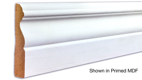 "Profile View of Casing Molding, product number CA-316-022-1-PM - 11/16"" x 3-1/2"" Primed MDF Casing - $0.83/ft sold by American Wood Moldings"
