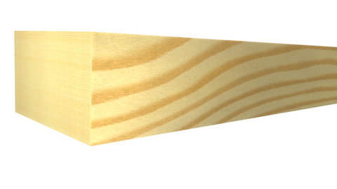 "PS-024-016-1-CP - 1/2"" x 3/4"" Clear Pine Parting Stop - $0.60/ft"