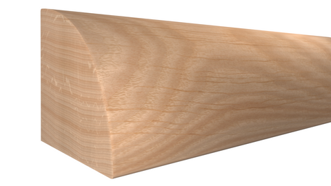 "RO-024-024-1-RO - 3/4"" x 3/4"" Red Oak Quarter Round - $1.12/ft"