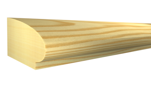 "SB-020-010-1-CP - 5/16"" x 5/8"" Clear Pine Scribe Molding - $0.40/ft"