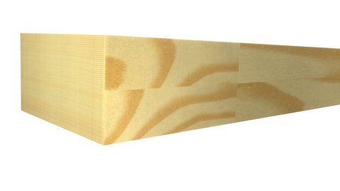 Standard Size 1x2 Finger Joint Pine Boards - $0.60/ft