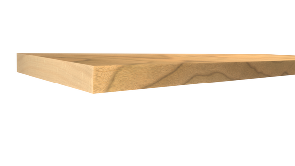 Profile View of Standard Size 1x6 Hard Maple Boards - $5.72/ft sold by American Wood Moldings