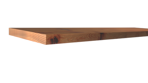 Standard Size 1x8 Knotty Red Cedar Boards - $4.68/ft