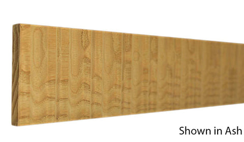 "Profile view of decorative ash carved molding, product number ASDC105 5/16""x3"" Ash $13.20/ft. sold by American Wood Moldings"