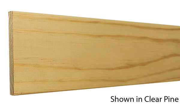 "Profile view of base molding, product number BA575 9/16""X5-1/2"" Clear Pine $2.04/ft sold by American Wood Moldings"