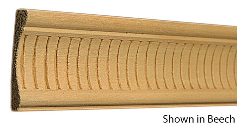 "Profile View of Decorative Embossed Molding, product number DE-216-026-1-BE - 13/16"" x 2-1/2"" Beech Decorative Embossed Molding - $6.92/ft sold by American Wood Moldings"