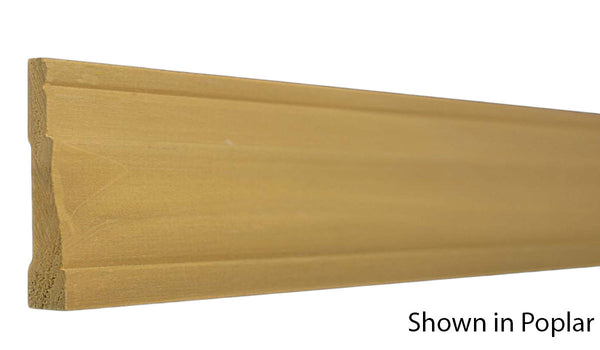 "Profile View of Casing Molding, product number CA-216-020-1-PO - 5/8"" x 2-1/2"" Poplar Casing - $1.32/ft sold by American Wood Moldings"